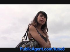 PublicAgent Latina babe gets fucked by big black dick POV