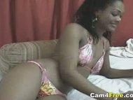 Sexy Black Girl Anal Dild...