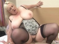 Mature Jo Juggs Gets Big ...