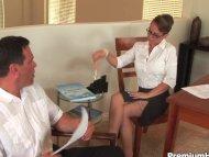 Stockings secretary Holly...