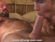 Bear Sucking Twink Cock