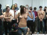 BUSTY GIRL AT CZECH GANG ...