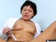Sexy Milf in nurse unifor...