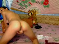 Exotic Beauty Plays With ...