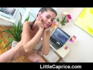 Teen Little Caprice fooli...