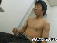 Japanese Stud Rubbing His...