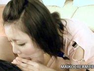 Cute Japanese MILF Aya Uc...