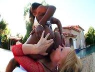 Interracial Lesbian Fuckf...