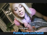 PublicAgent Cute Blonde w...