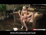 Submissive blonde pornsta...