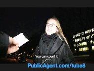 PublicAgent Blonde colleg...