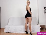 Lilith Lee nylons legs an...