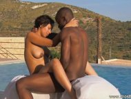 African Style Romantic Sex