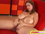 Hot teen with monster nat...