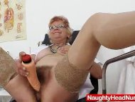 Woolly grandma unshaved t...
