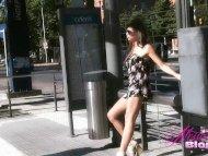 Alessandra Blonde in a fl...