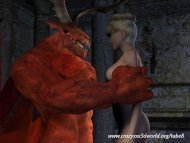 3D Animation: Red Demon F...