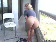ShesNew Hot Ass blonde ba...