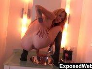Webcam Show In Her Bathroom