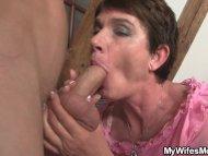 Horny mother in law seduc…
