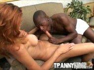 Interracial Tranny Slut O...