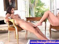 Eve Angel worships Jelena...
