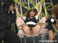 Japanese Schoolgirl Chain...