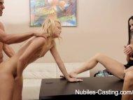 Nubiles Casting - Cute bl...