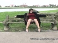 English milf persuaded to...