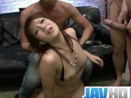 Stunning babe teasing a b...