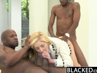 BLACKED 2 Big Black Dicks...