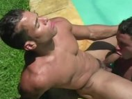 Ramon and Rodrigo Poolsid...