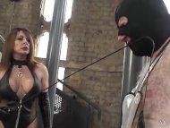 Hot mistress in latex spa...