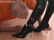 Dirty pathetic slave lick...