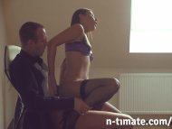 Iwia Gets Creampied In Of...