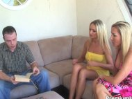 Served by two hot milf wh...