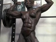 Chiseled Ebony Muscle