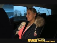 FakeTaxi Blonde with Huge...