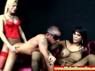 Euro tranny shemale in th...