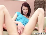sweet girl squirting pee