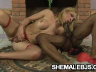 Latina shemale Bianca And...