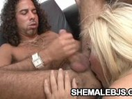 Blonde shemale Faxiana Su...