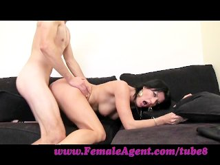 FemaleAgent. Young stud has erection issues